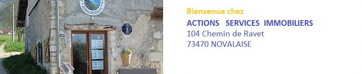Bienvenue à l'agence ACTIONS SERVICES IMMOBILIERS   E.u.r.l